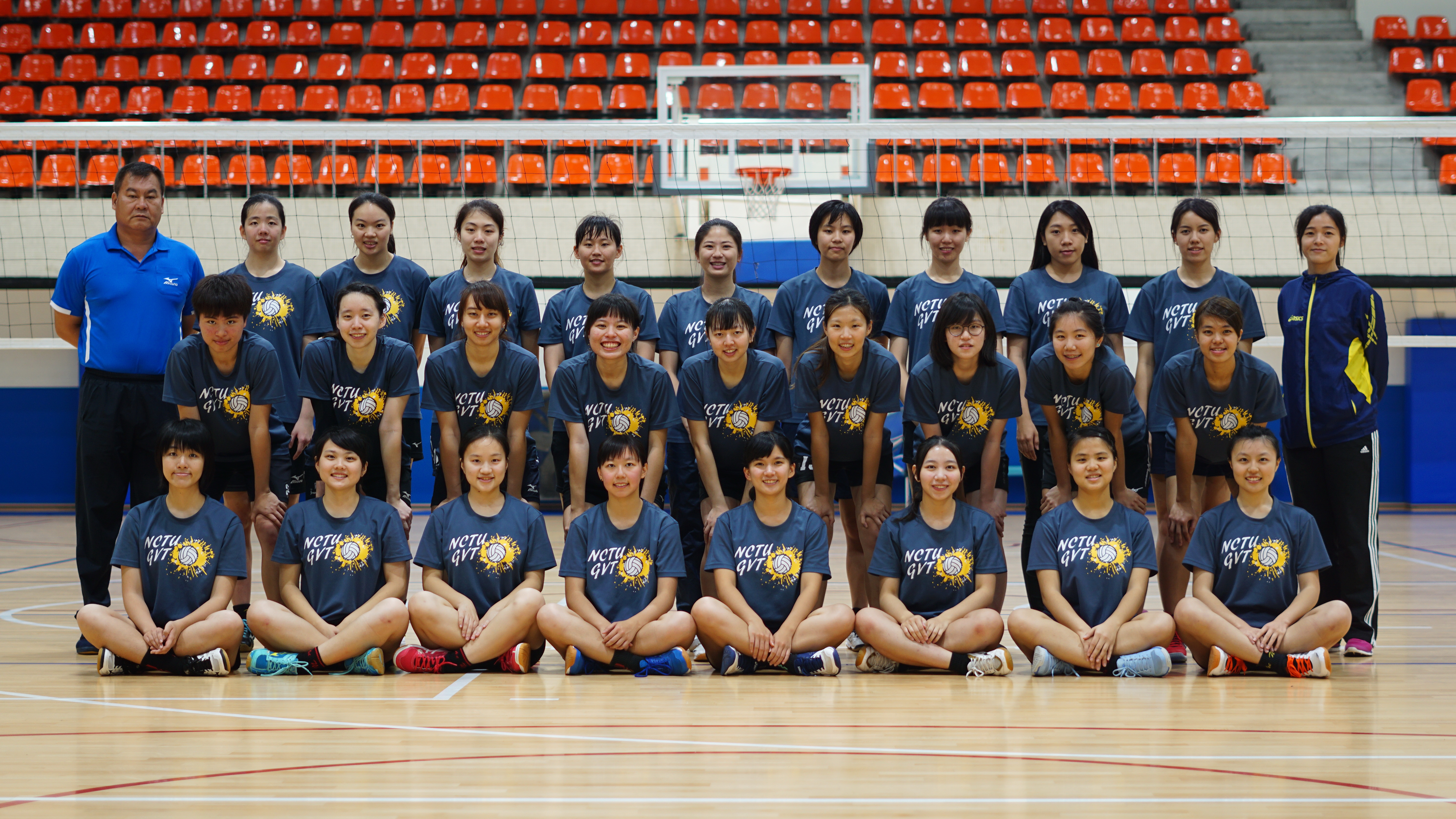 NCTU Women Volleyball Team Representative - 6th place