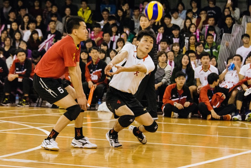 The final game in Mei-Chu - Men Vollyball